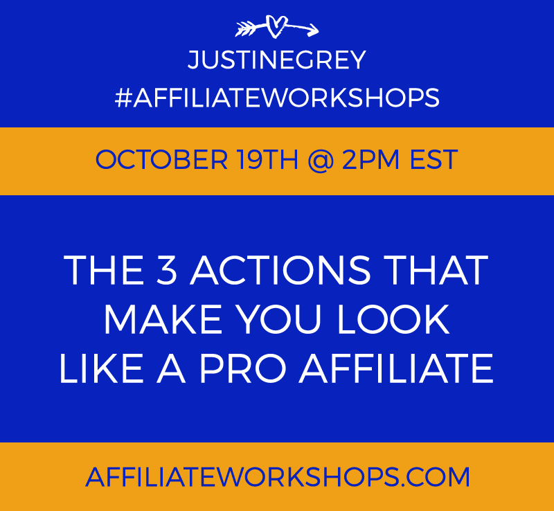 Affiliate Workshops - The 3 Actions That Make You Look Like a Pro Affiliate