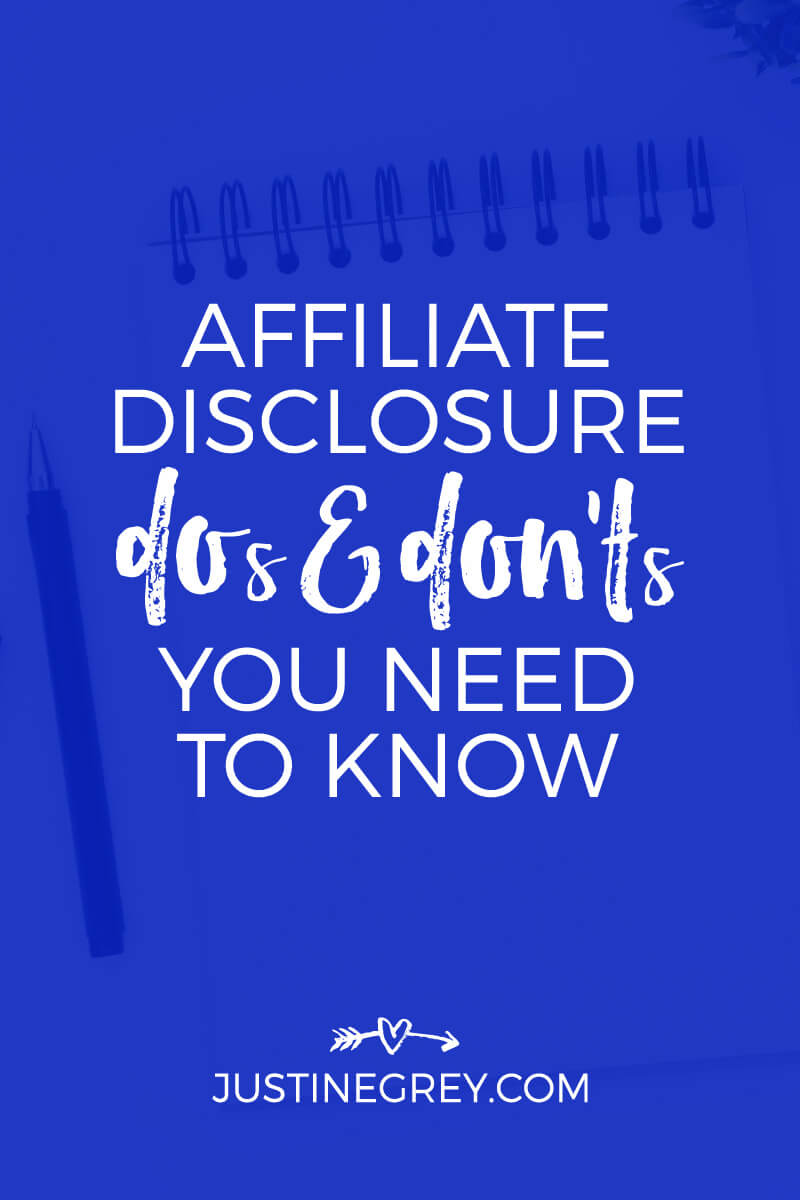 Affiliate Disclosure DOs and DON'Ts You Need To Know Now
