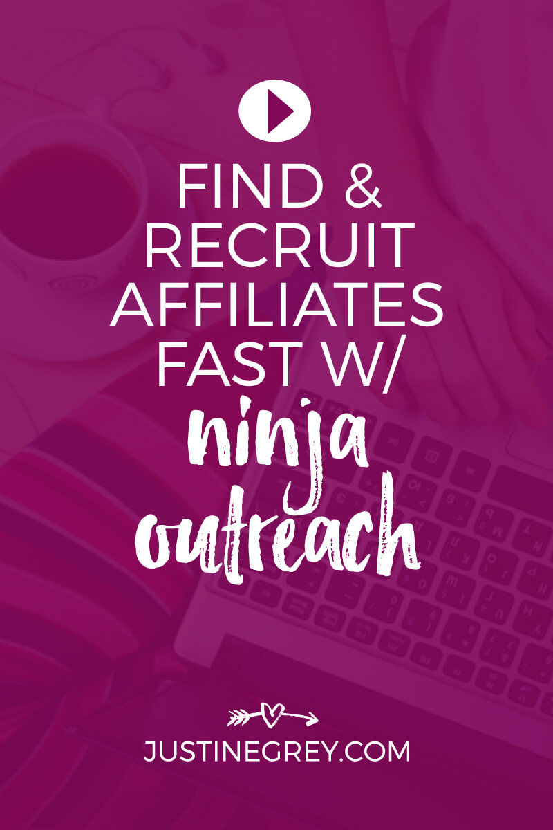 How to Find & Recruit Affiliates Using Ninja Outreach