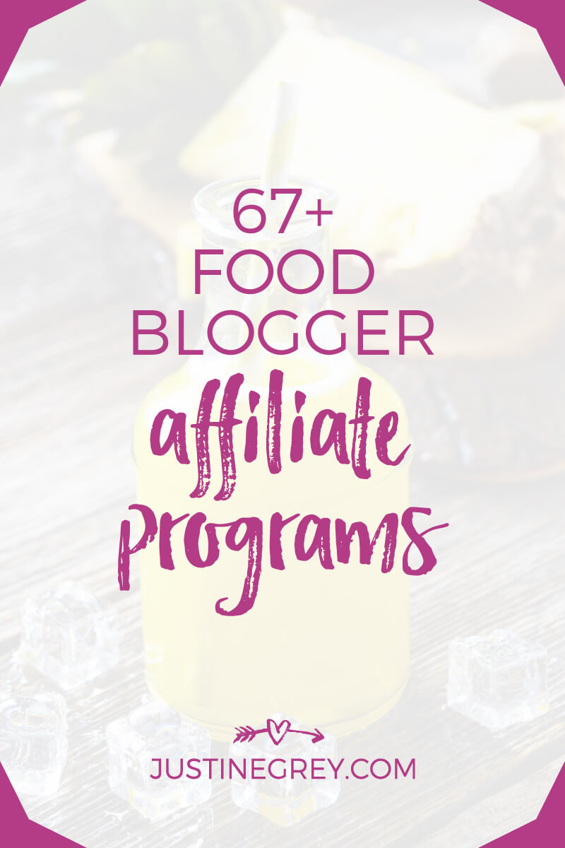 67+ Food Affiliate Programs for Bloggers and Content Creators