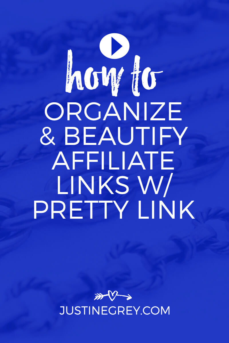 Pretty Link Tutorial - How To Organize and Beautify Your Affiliate Links